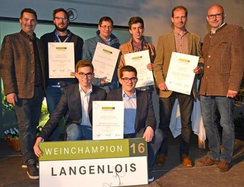Langenloiser Weinchampion gekürt