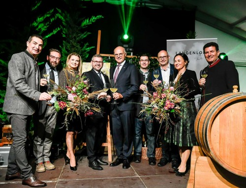 Weintaufe in Langenlois: Olymp